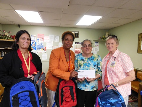 Back to School donations from Gateway Regional Medical Center2015
