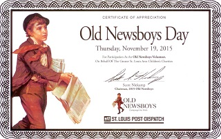 Old Newsboys Day 2015