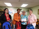 Back to School Donation from Gateway Regional Medical Center - August 2015